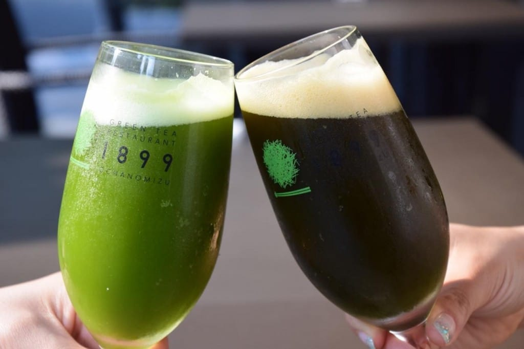 matcha beer