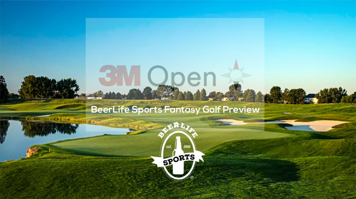 BeerLife Sports Fantasy Golf Preview- 3M Open