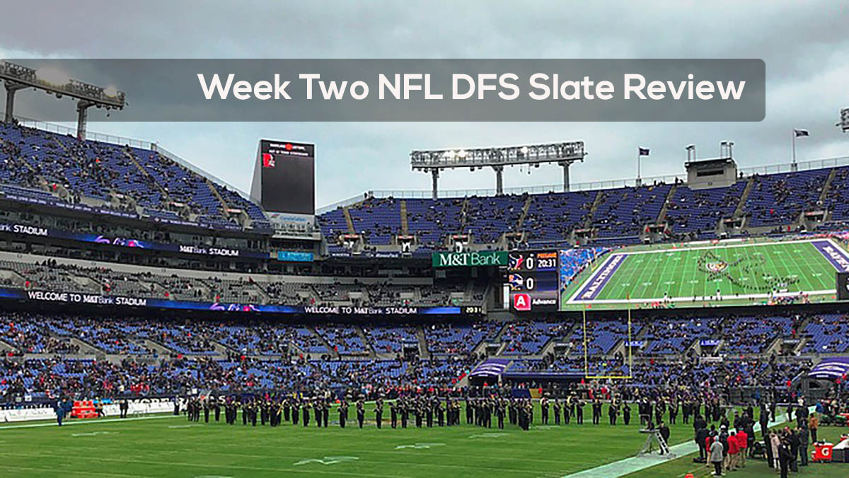 Week Two NFL DFS Slate Review