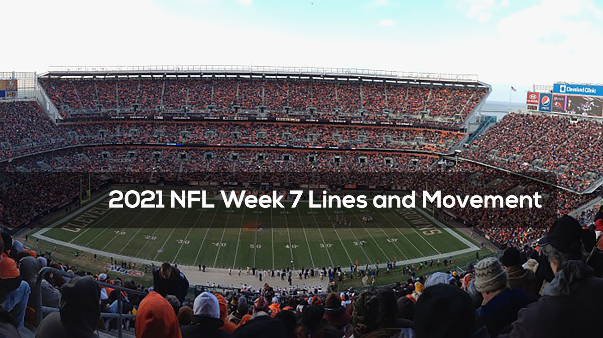 2021 NFL Week 7 Lines and Movement