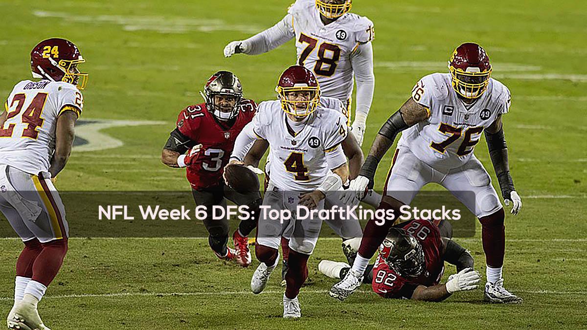NFL Week 6 DFS- Top DraftKings Stacks