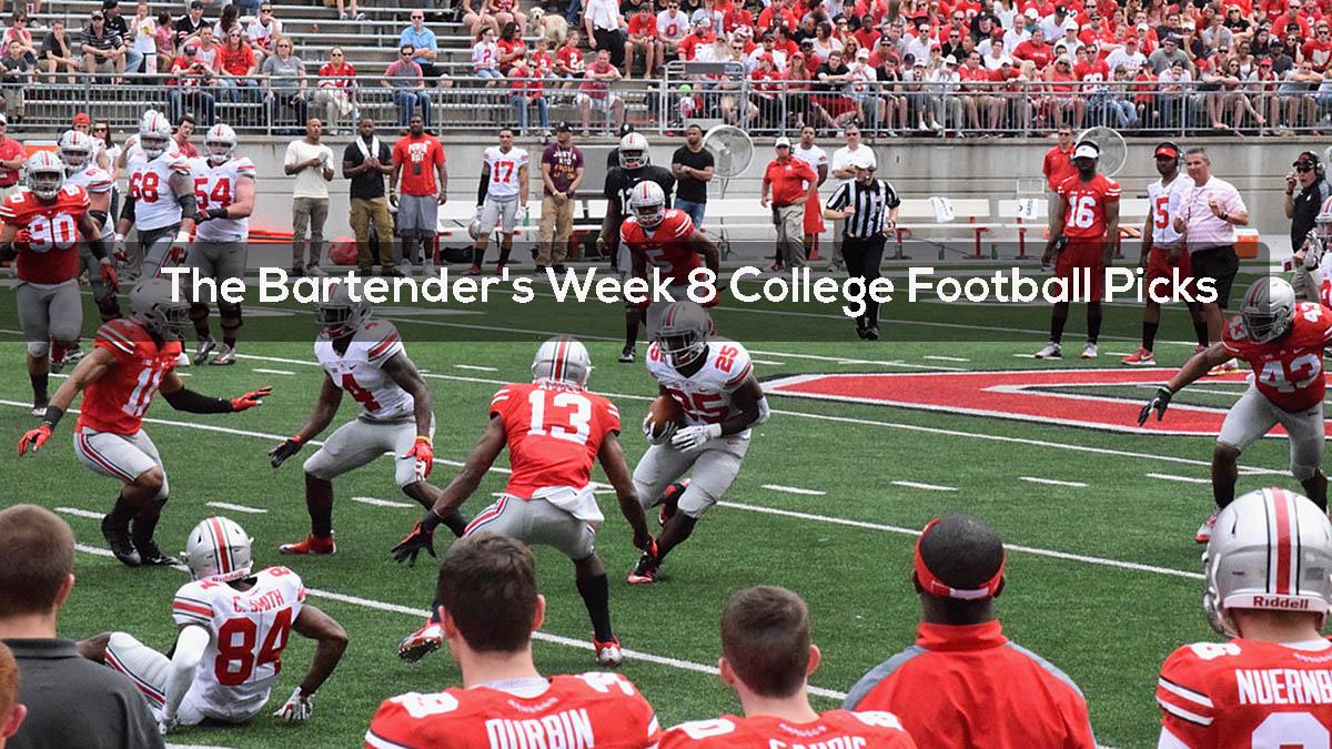 The Bartender's Week 8 College Football Picks